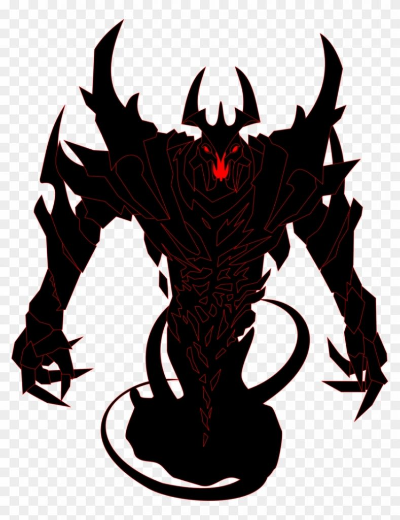 demon clipart shadow shadow fiend dota 2 model free