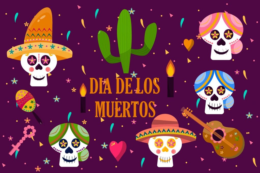 dia de los muertos clipart day of the dead halloween