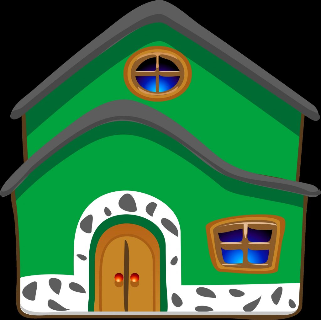 download casa cartoon png green house clipart full size