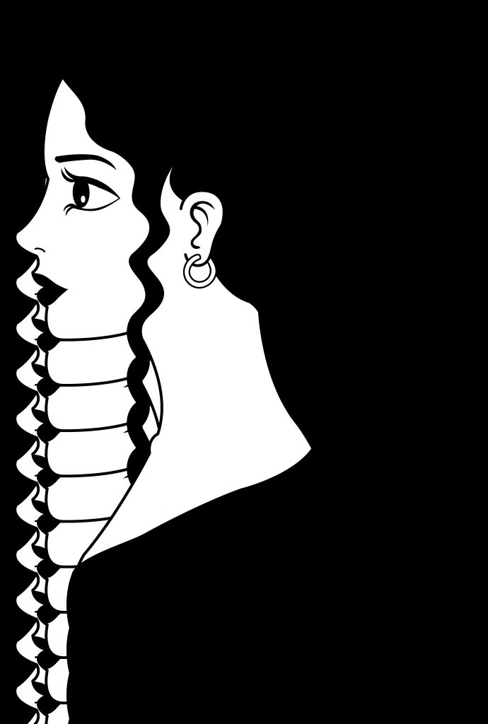 download woman clip art black and white clipart blank face