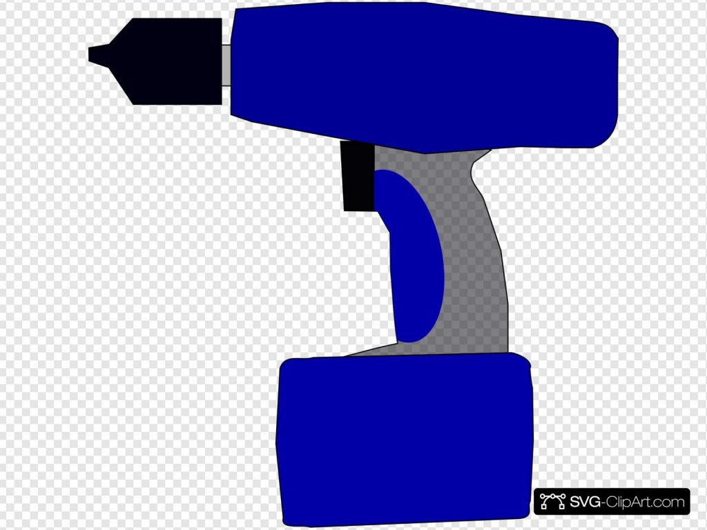electric battery drill svg vector electric battery drill