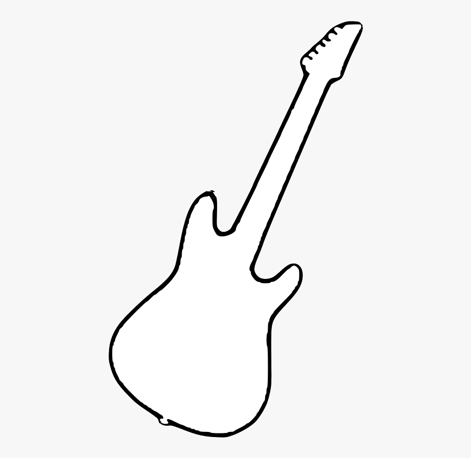 electric guitars clipart bass guitar transparent cartoon