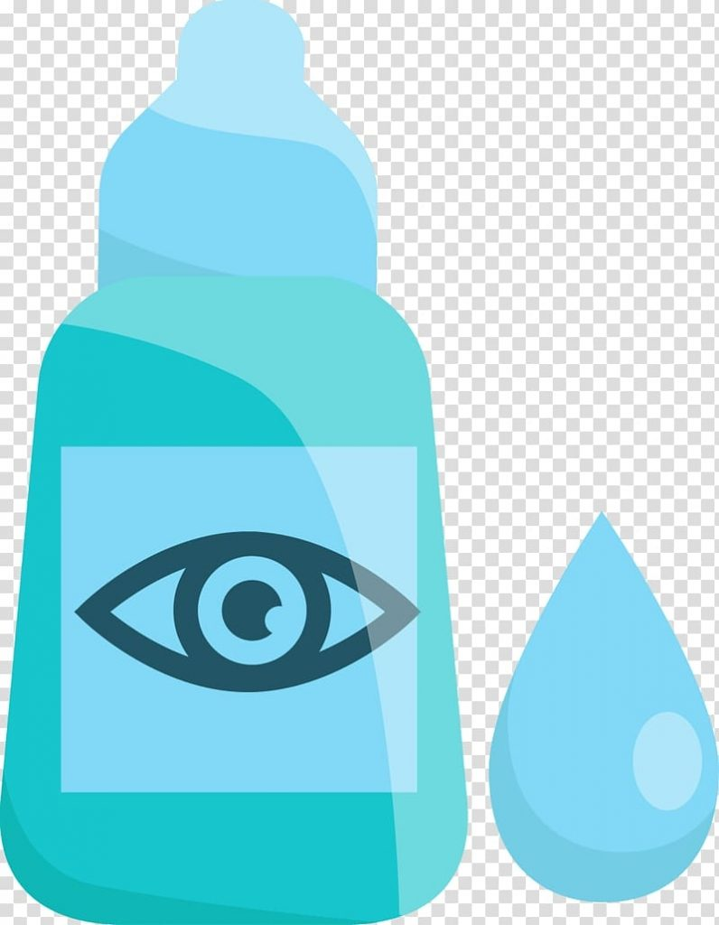 eye drop blue eye drops transparent background png clipart