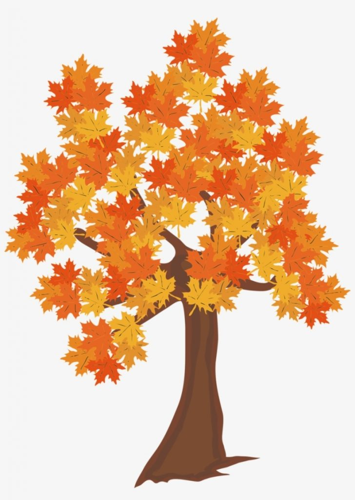 fall leaves falling from a tree png real trees clipart
