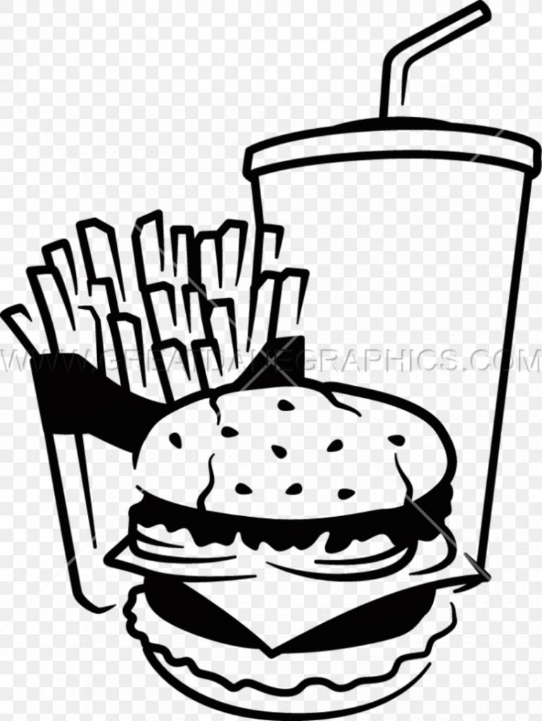 fast food junk food french fries hamburger clip art png