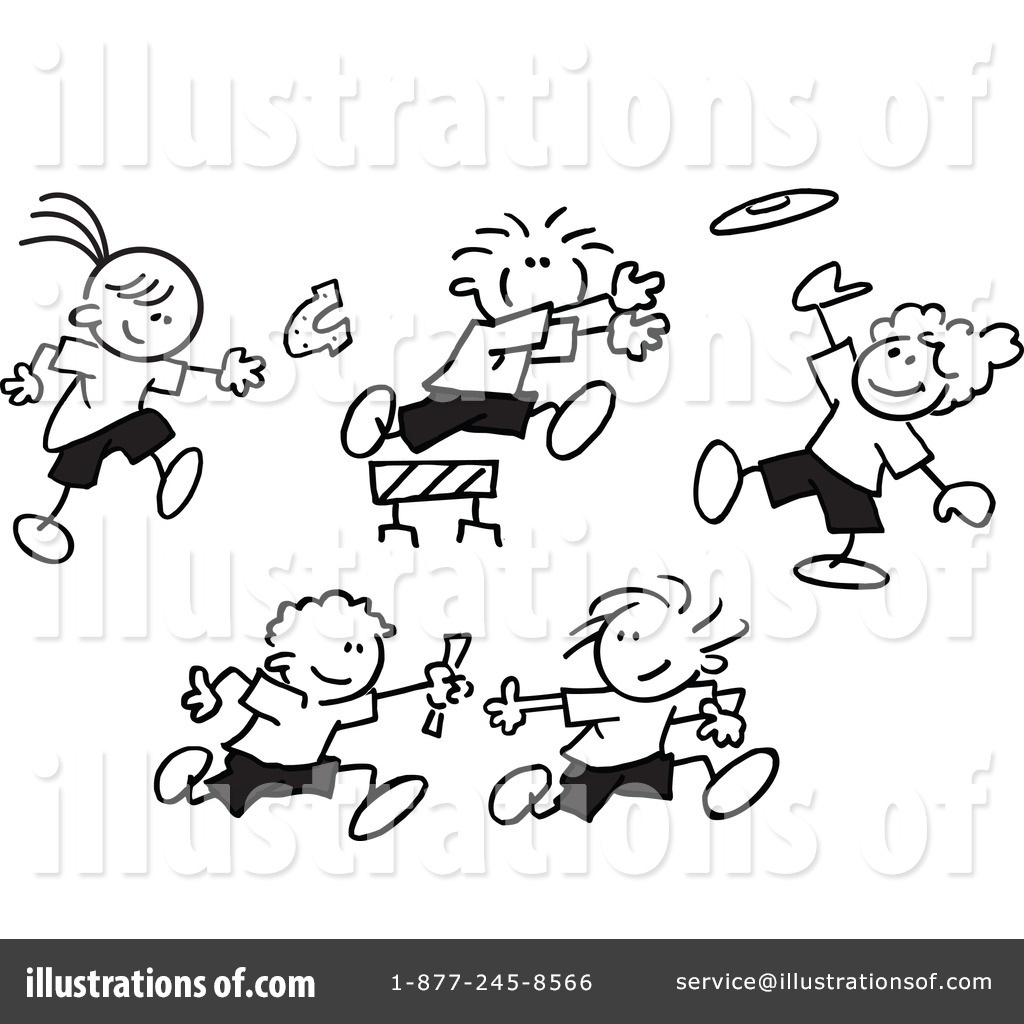 field day clipart 42371 illustration johnny sajem