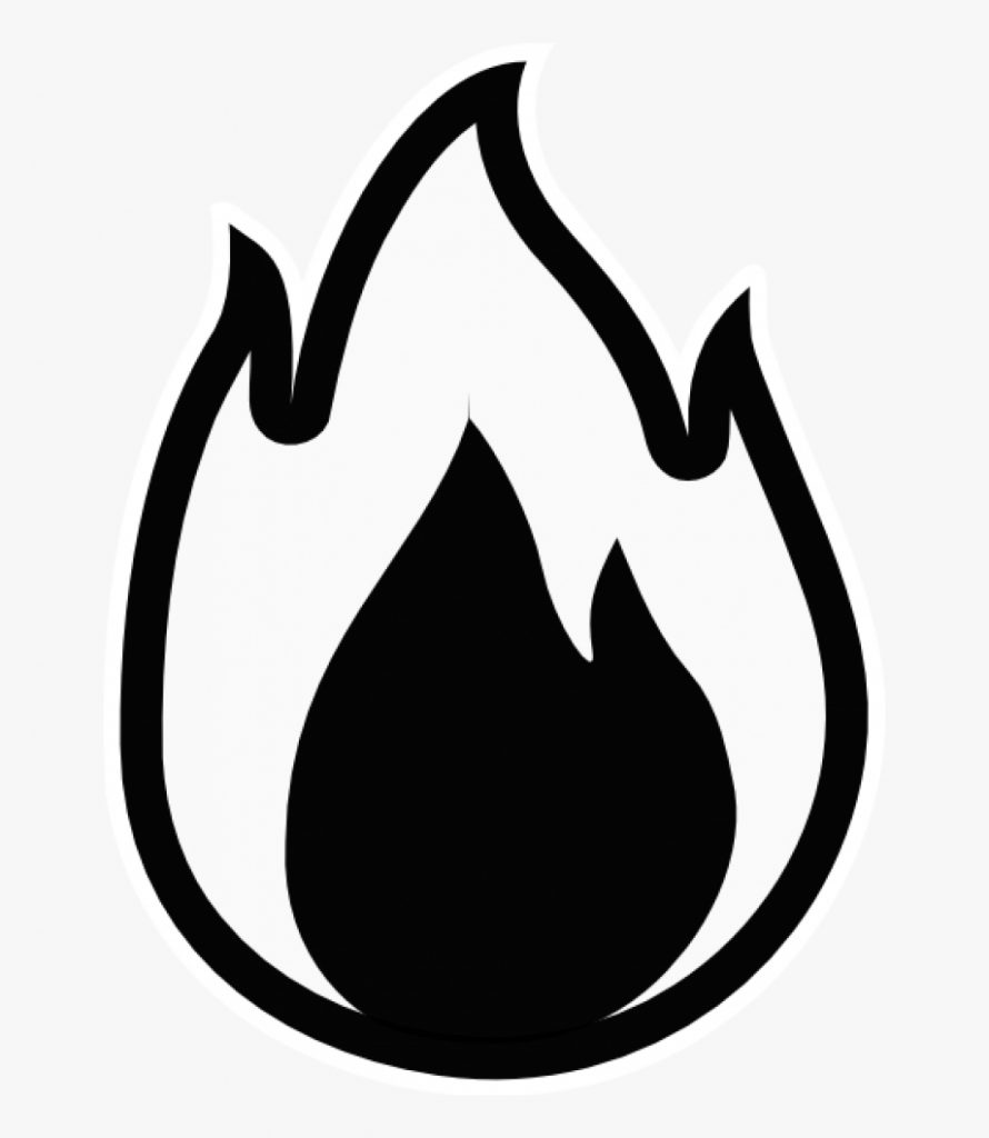 flames flame clip art free clipart images fire black and