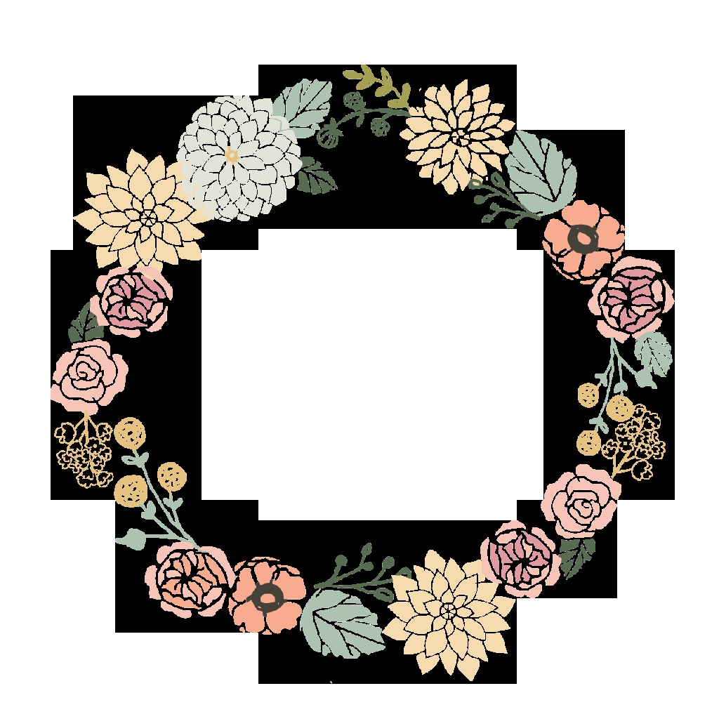 flower frame clipart google flower frame wreath