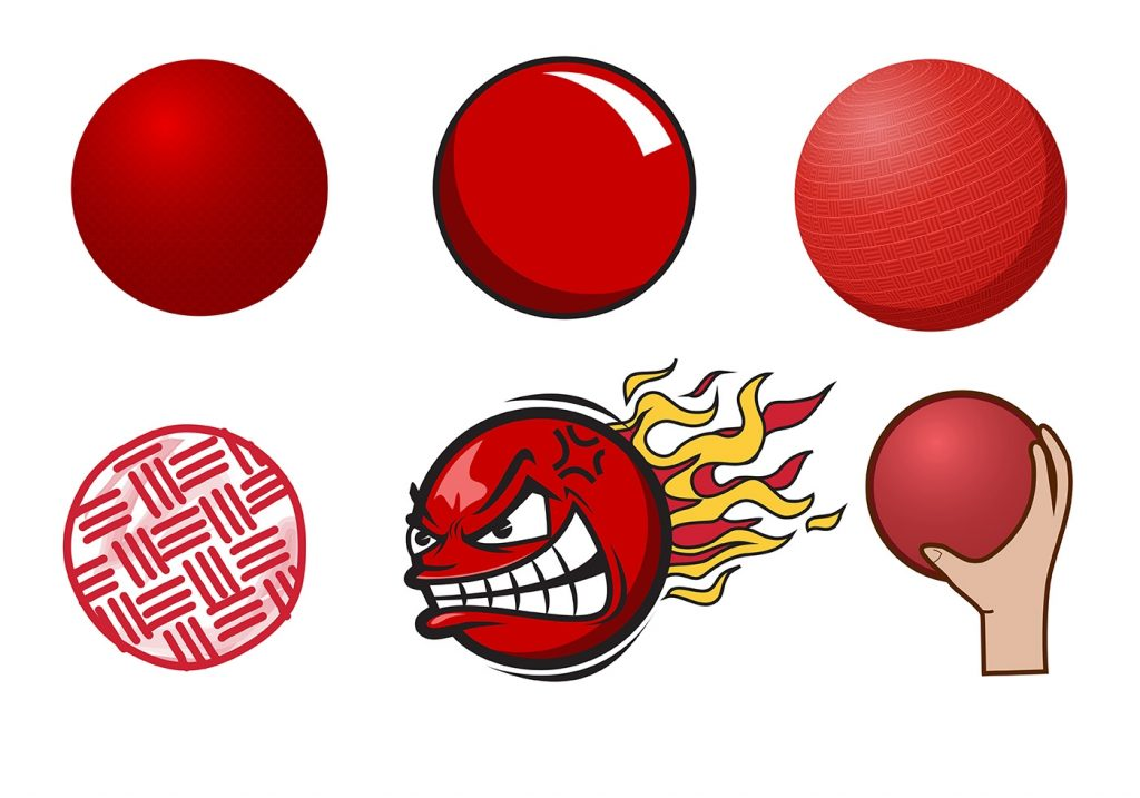 free dodgeball vector download free vectors clipart