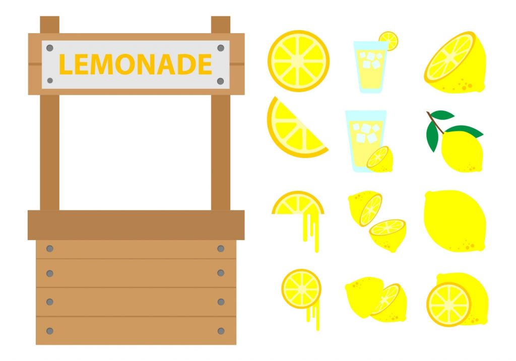 free lemonade stand vector download free vectors clipart