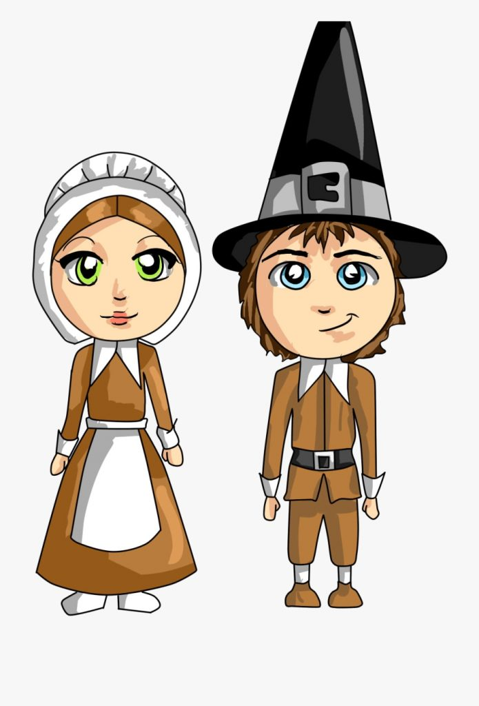 free pilgrims thanksgiving cliparts pilgrims png