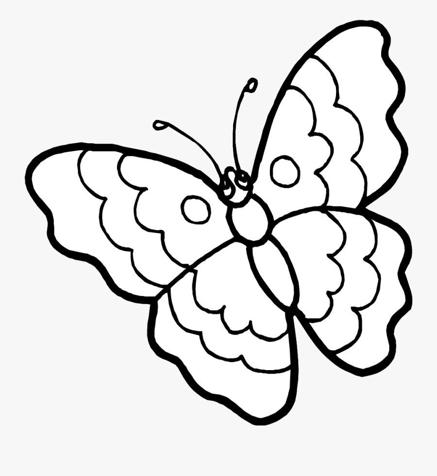 free printable butterfly coloring pages outline pictures