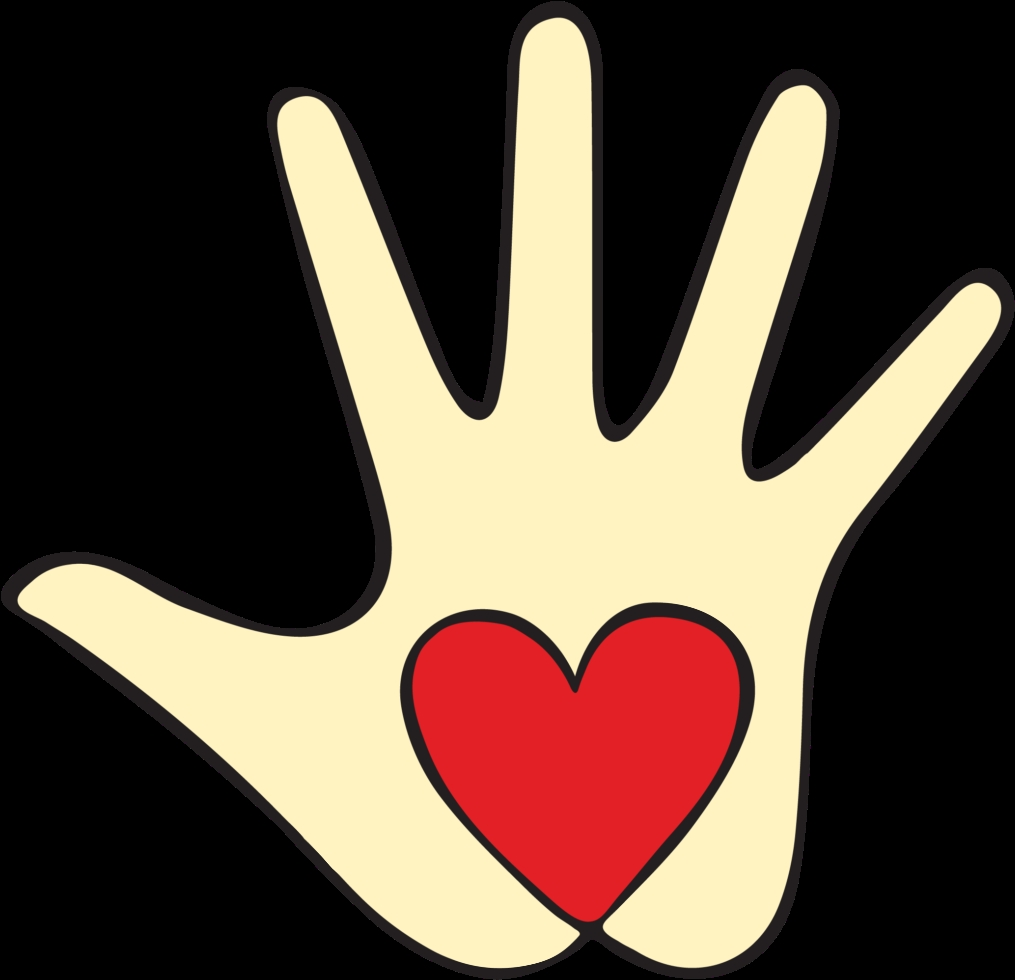friendly clipart kind hand acts of kindness clipart png