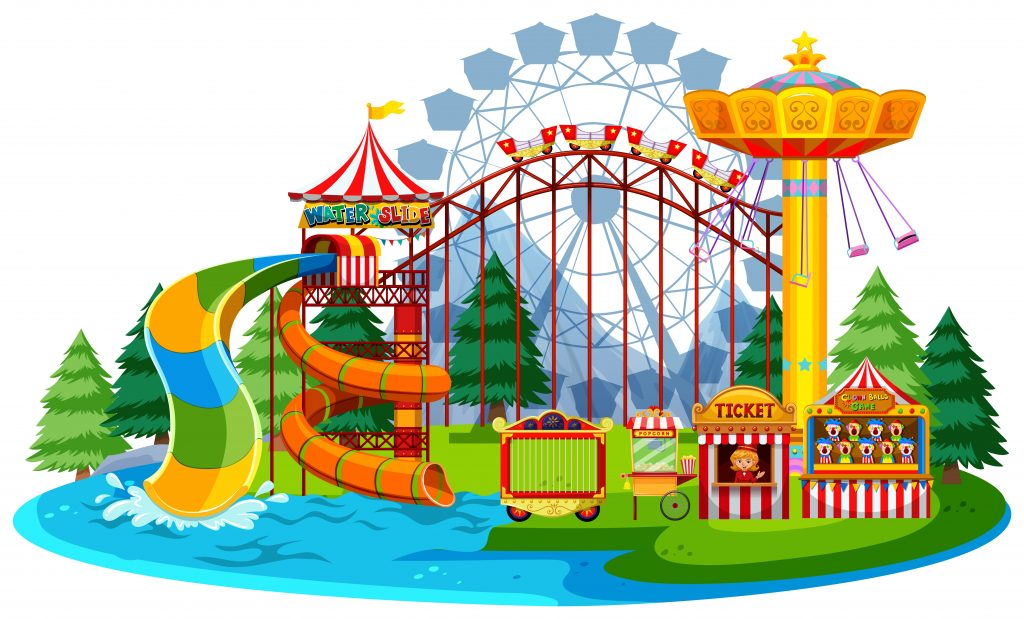fun water theme park download free vectors clipart