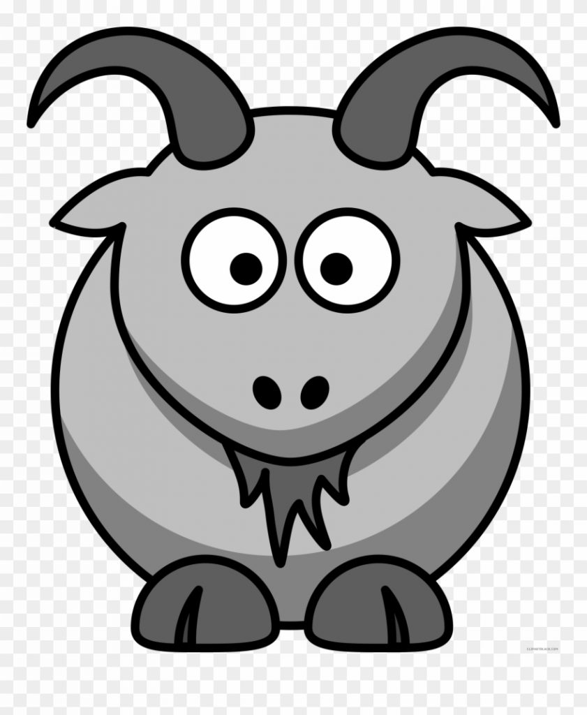 goat clipart black and white goat clipart gaot goat
