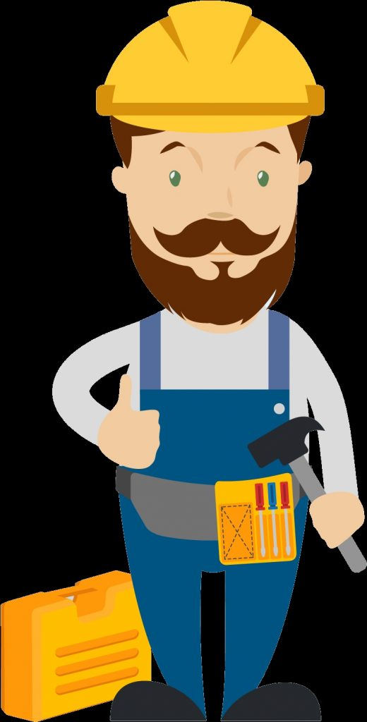 graphic free stock carpenter clipart skilled worker