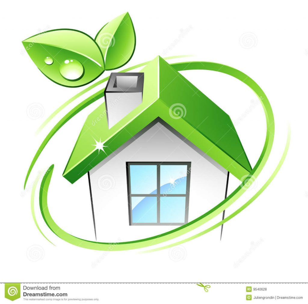 green house stock vector illustration of recycling organic