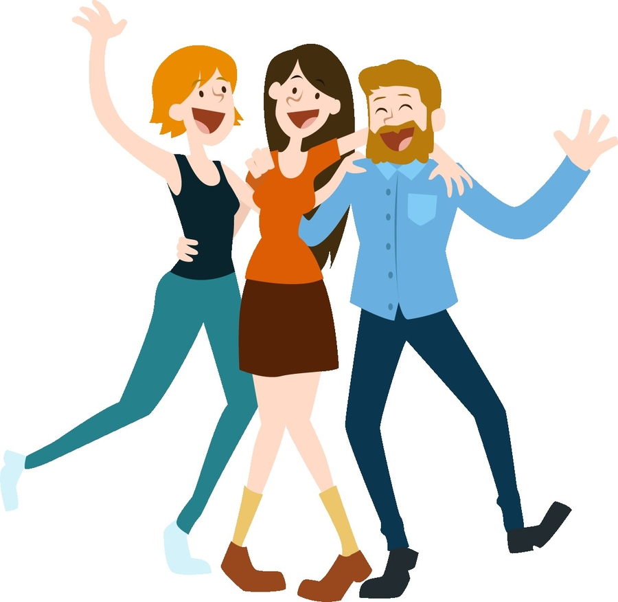 group of people background clipart people clothing