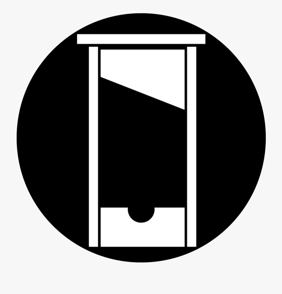 guillotine gobo free transparent clipart clipartkey