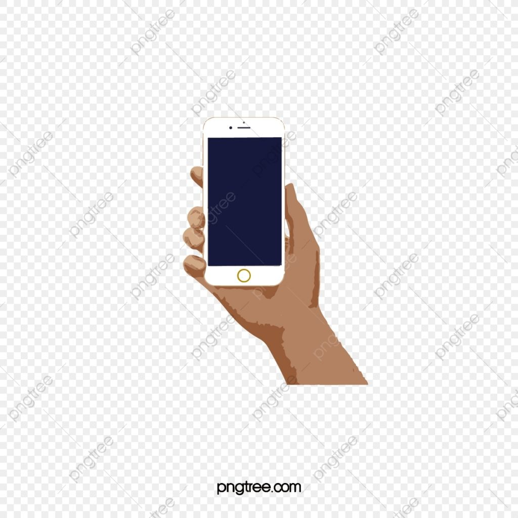 handheld iphone picture iphone clipart white phone
