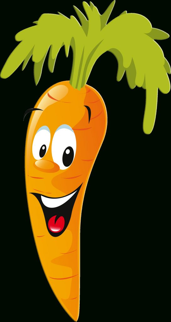 happy and smiling carrot clipart vegetable cartoon cute