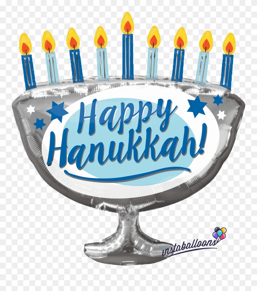 happy hanukkah menorah large 29 balloon happy hanukkah