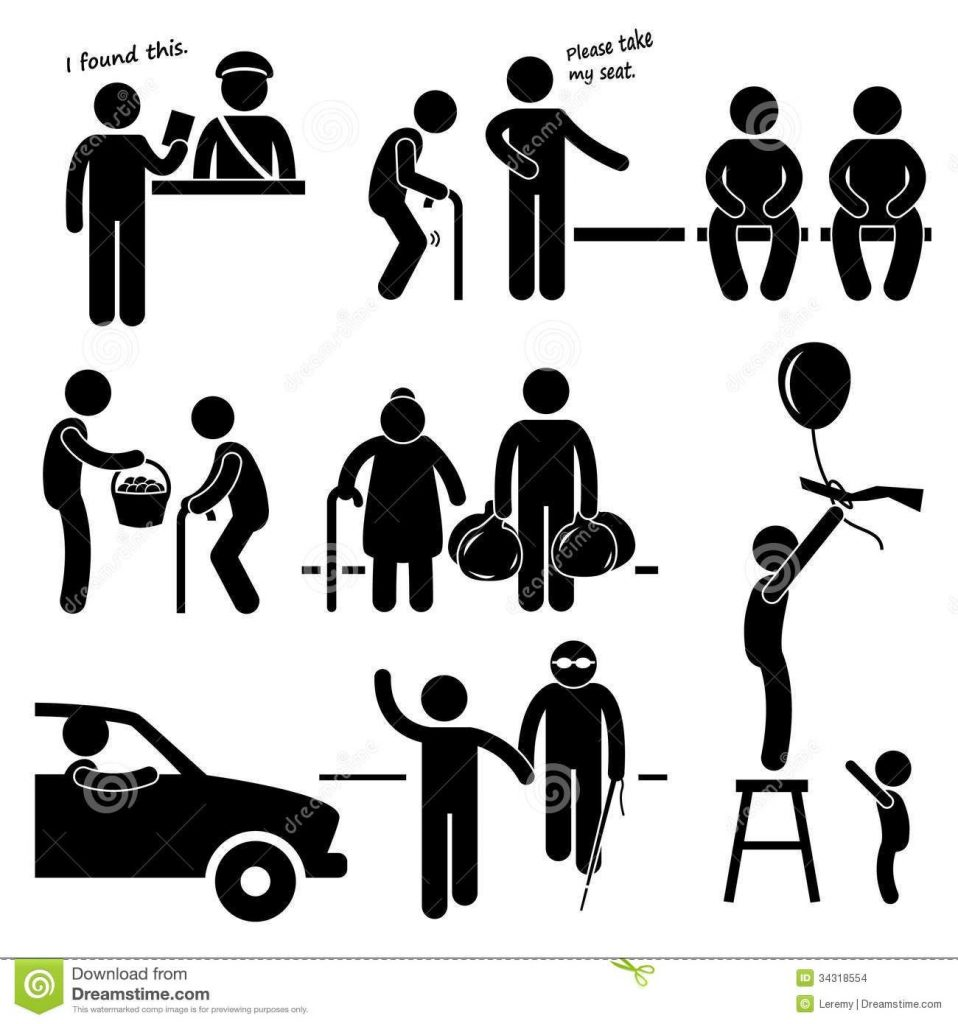 helping people in need clip art people being nice clipart