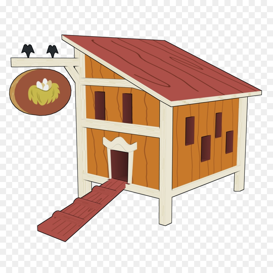 house cartoon clipart chicken house table transparent
