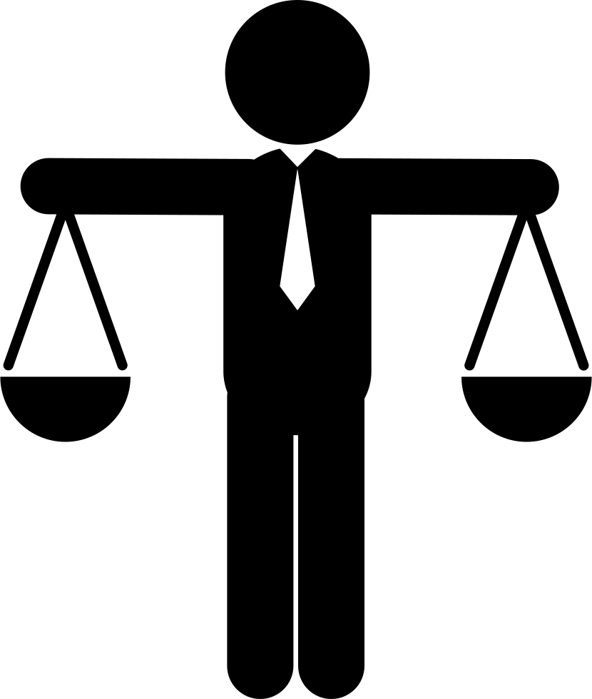 human male balanced scale comments clipart full size