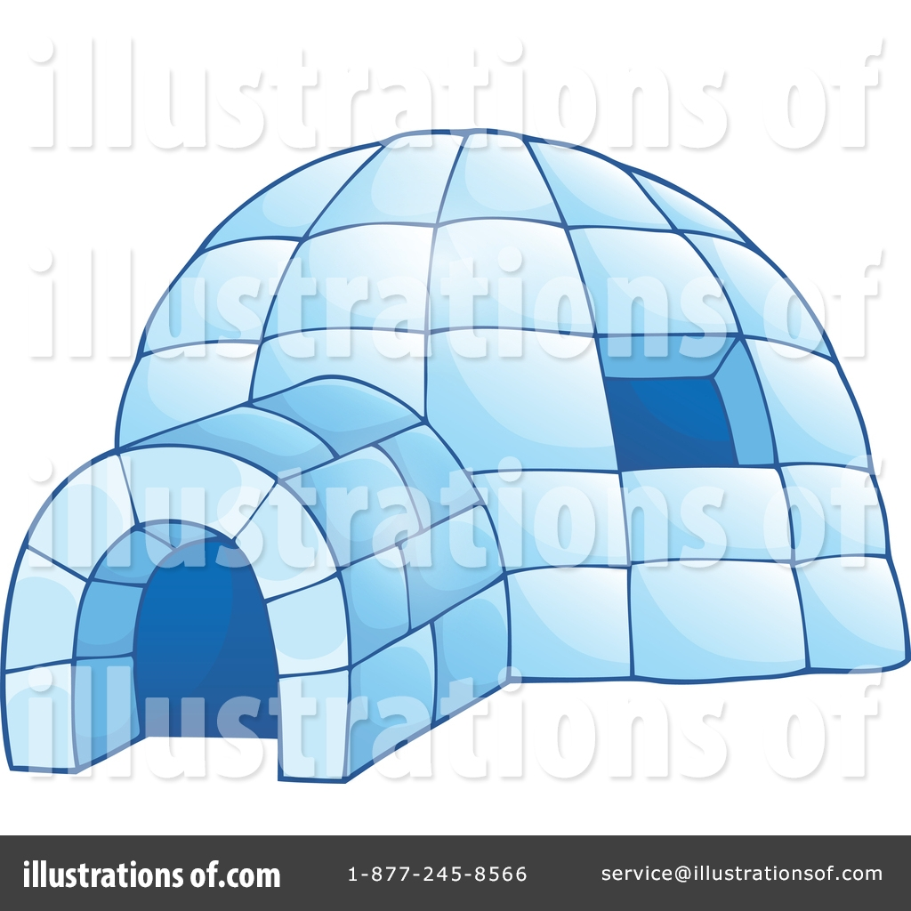 igloo clipart 1351648 illustration visekart