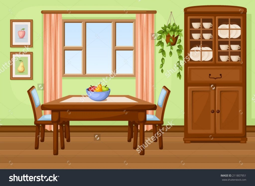 image result for cartoon dining room dining room images