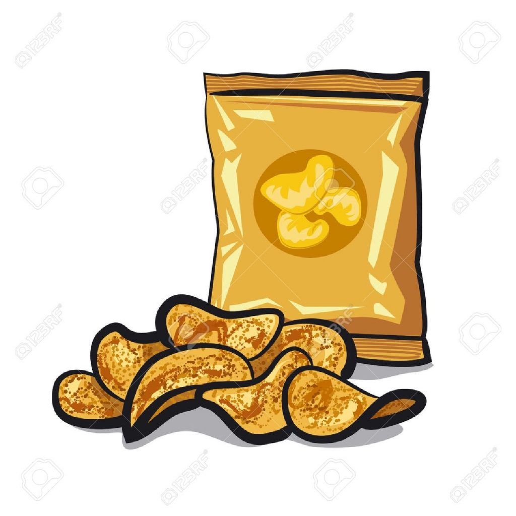 image result for chips clipart card art potato chips chips