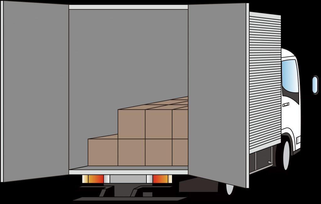 keys clipart truck rear of delivery truck transparent