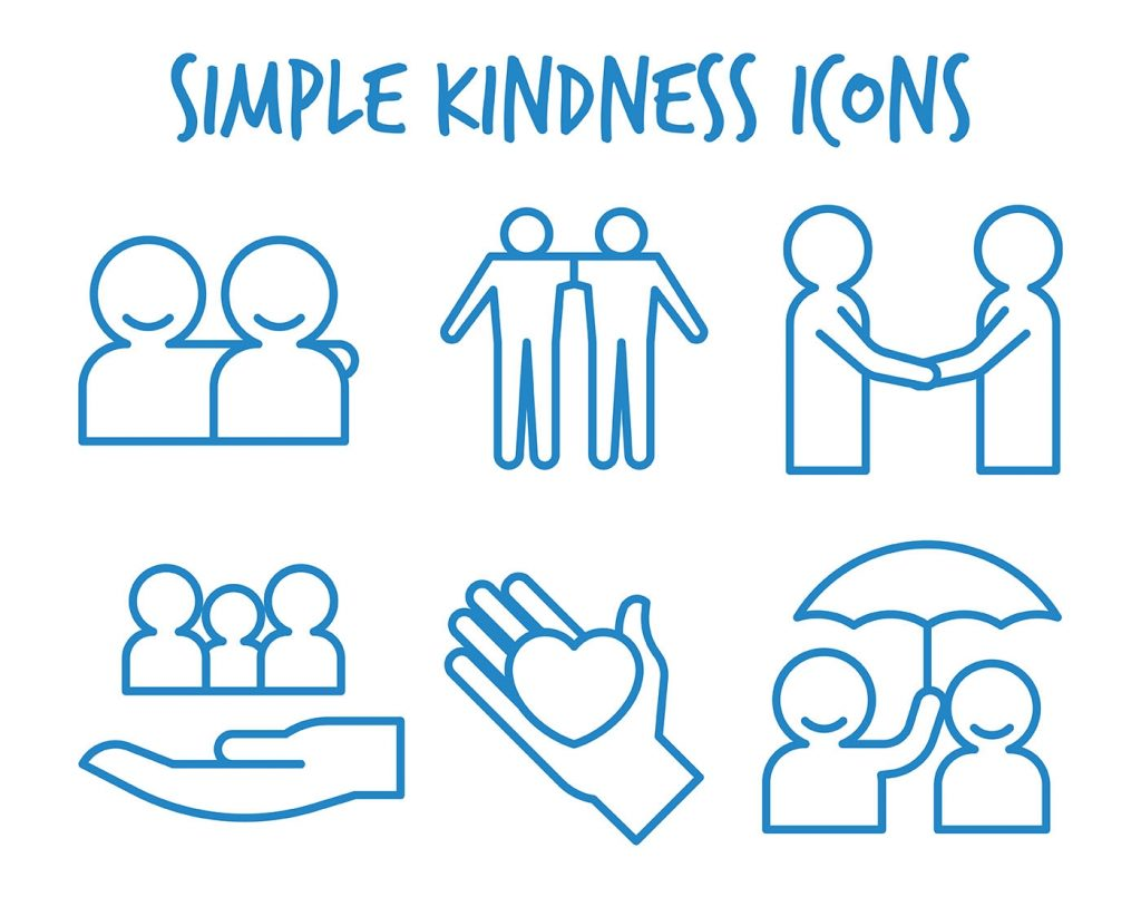 kindness vector icons download free vectors clipart