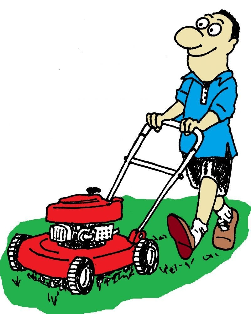 lawn mowing burns beach lawn mower lawn care business