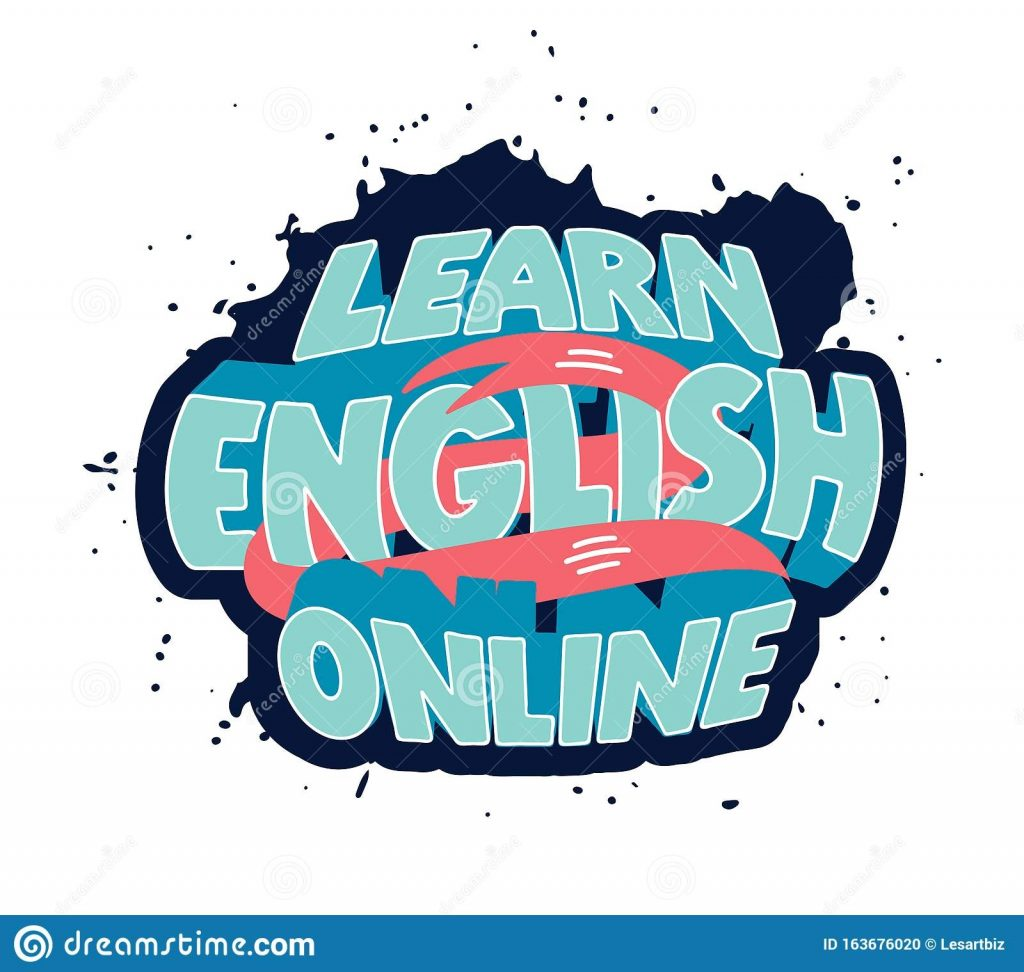 learn english clipart creative poster web banner design