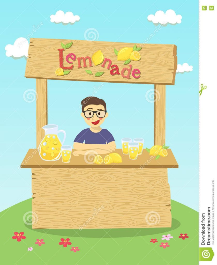 lemonade stand boy stock illustrations 12 lemonade stand
