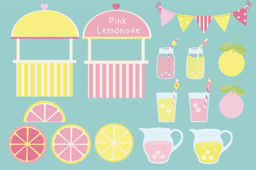 lemonade stand clipart poppymoon design thehungryjpeg