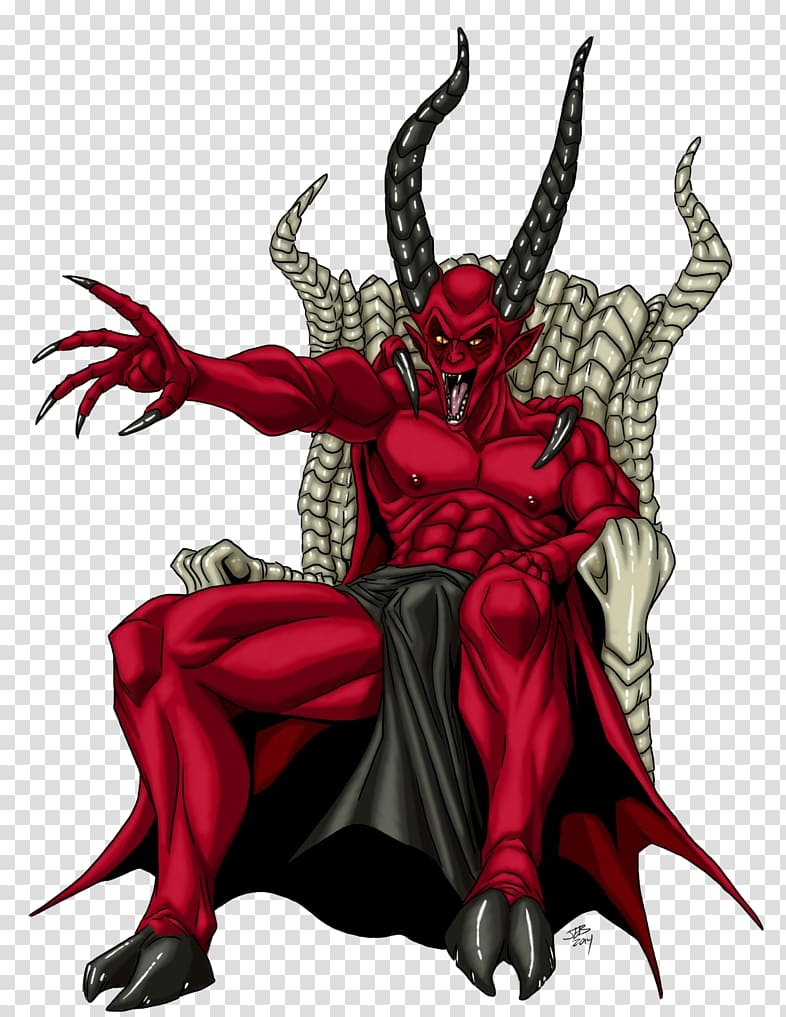 lucifer devil demon satan devil transparent background png