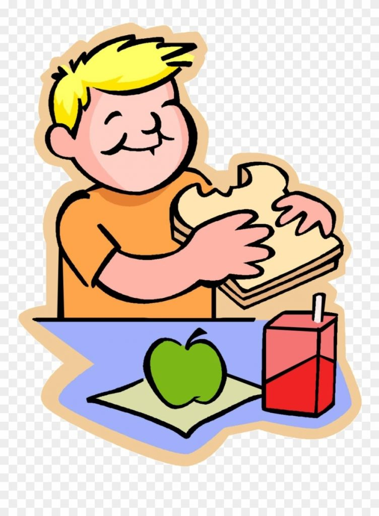 lunch clipart snack eat lunch png download 115740