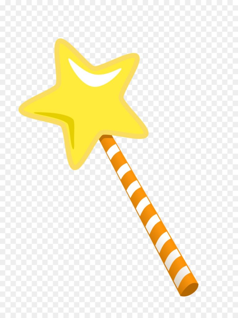 magic wand background clipart yellow line product