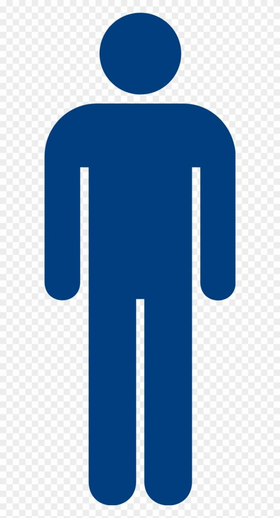 male blue mens toilet sign clipart 145556 pinclipart