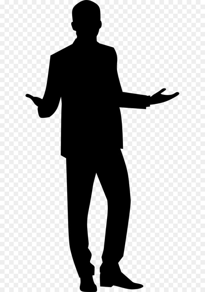 man cartoon clipart silhouette man line transparent