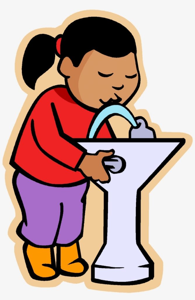 may i go to drink water clipart drink water fountain