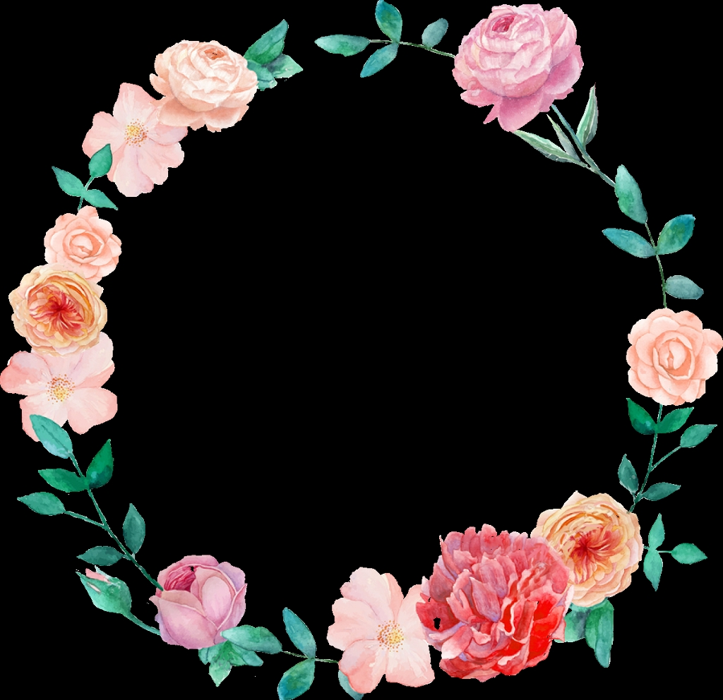 mexican clipart flower wreath watercolor floral wreath png