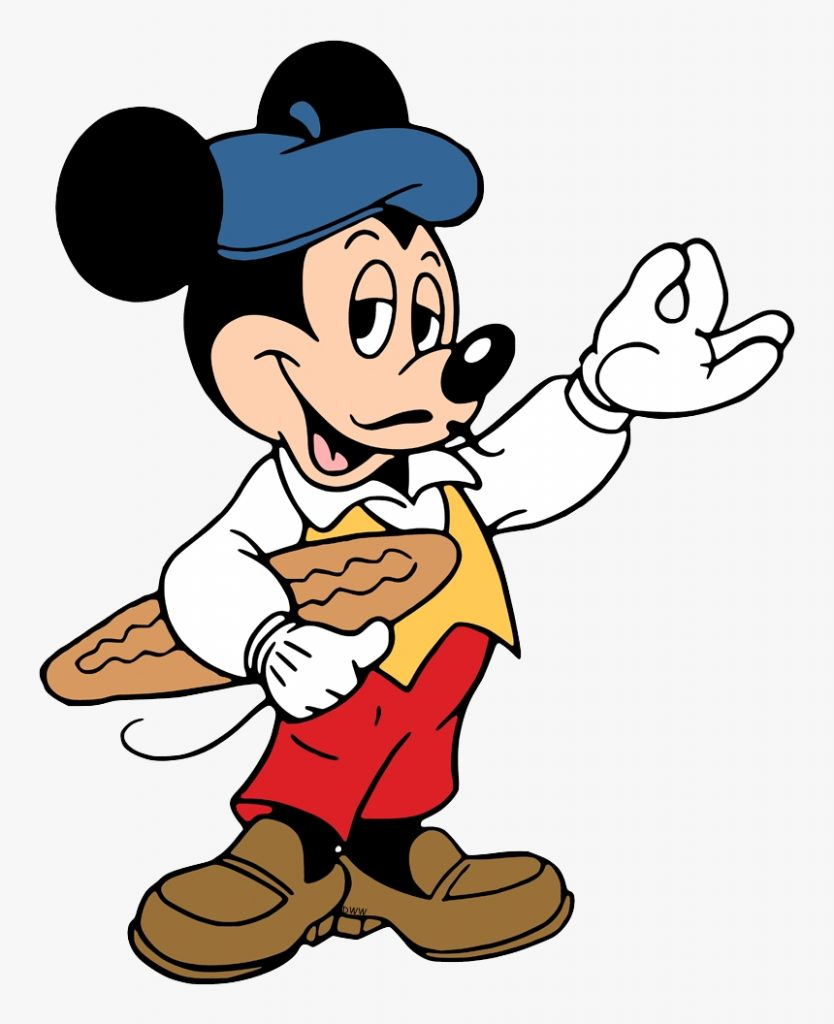 mickey mouse clipart french hd png download transparent