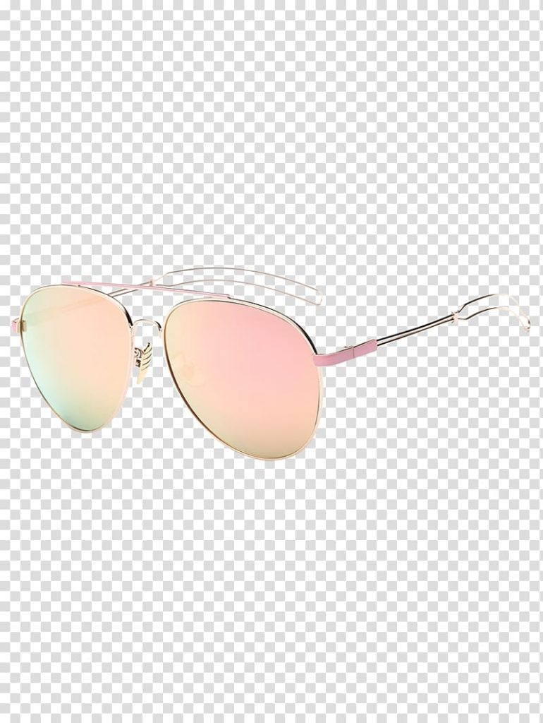 mirrored sunglasses eyewear aviator sunglasses hollowed out