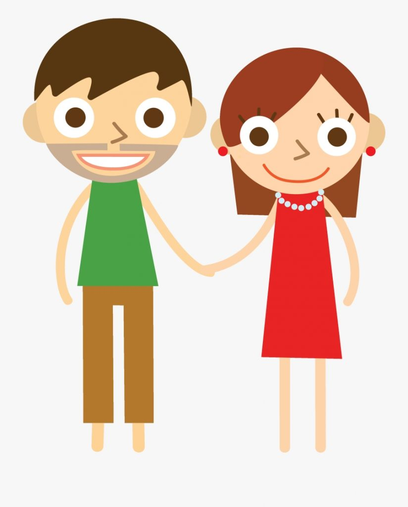 mommy and daddy cartoon free transparent clipart clipartkey