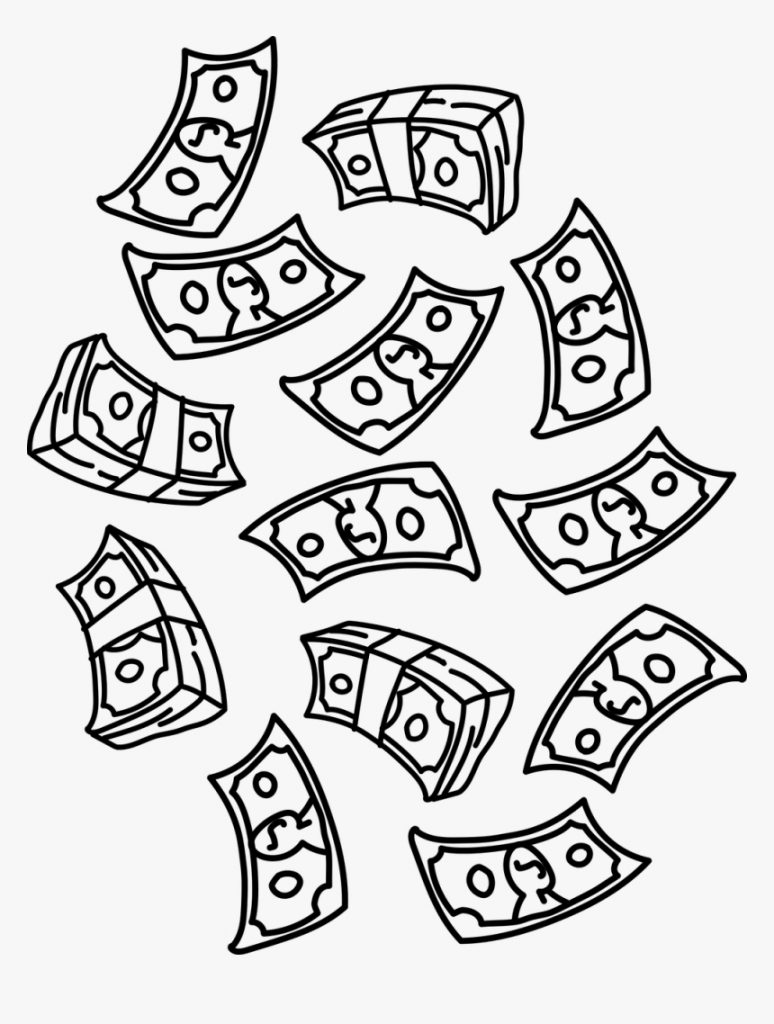 money dollars raining free picture falling money clipart