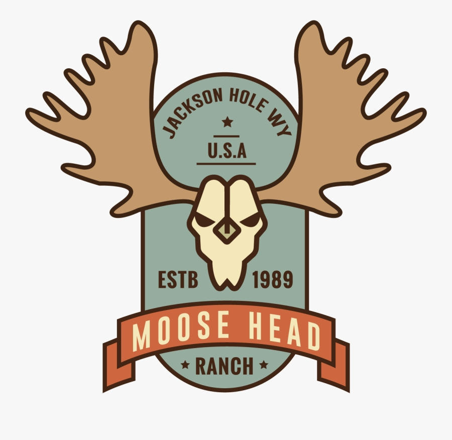 moose head ranch clipart png download free transparent